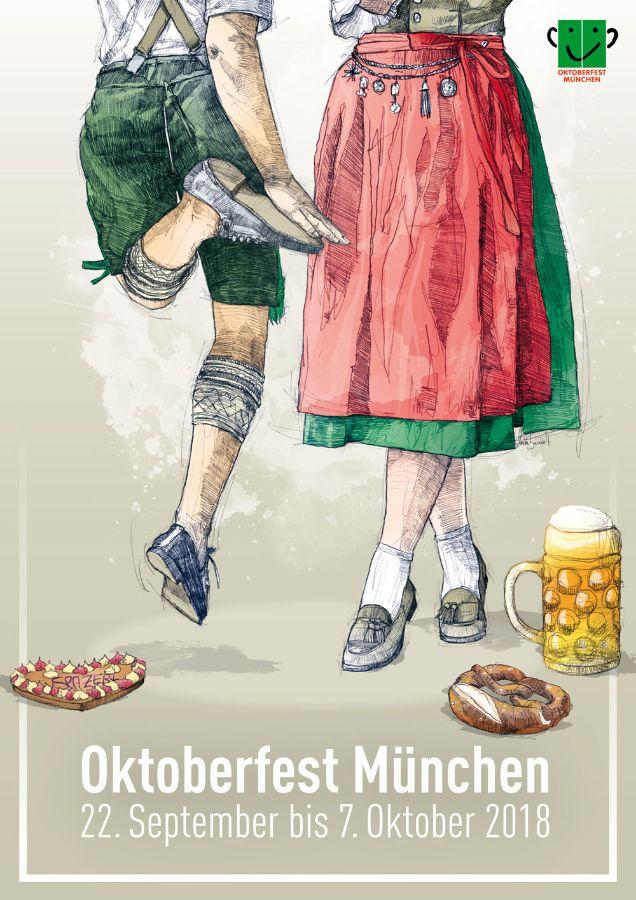 Oktoberfestplakat: 2. Platz Florian Beierlein