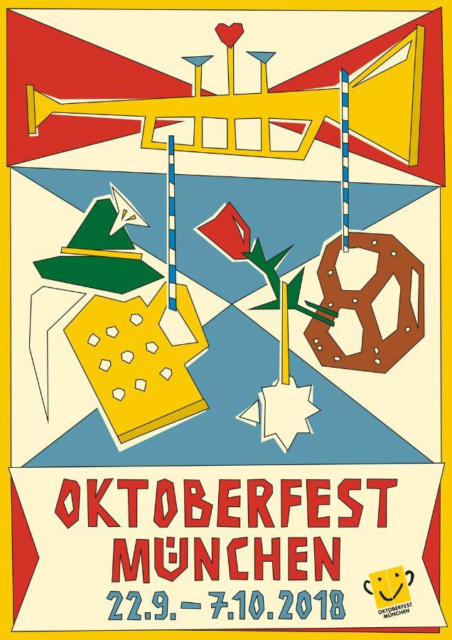 Oktoberfestplakat: 3. Platz Nina Bachmann