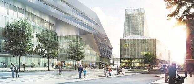 München Hauptbahnhof - Empfangsgebäude & Starnberger Flügelbahnhof: Blick auf den nördlichen Vorplatz, Foto: Deutsche Bahn AG