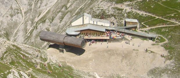Die Bergwelt Karwendel., Foto: Kira Nerys (Gemeinfrei über Wikimedia)