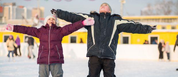 Symbolbild Eislaufstadien, Foto: Shutterstock