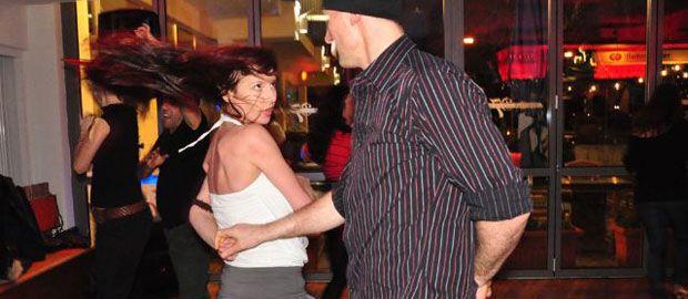 Tanzendes Paar., Foto: Najereh Shirzadian