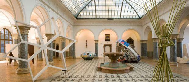 Ausstellung der Rathausgalerie am Marienplatz München., Foto: Wilfried Petzi