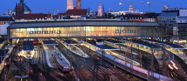 Hauptbahnhof München, Foto: Uwe Miethe/Deutsche Bahn AG
