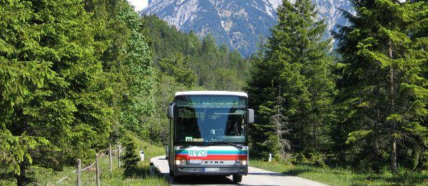 RVO: Bus vom Regionalverkehr Oberbayern, Karwendel, Lenggries, Foto: Luidger, Wikicommons, CC BY-SA 3.0