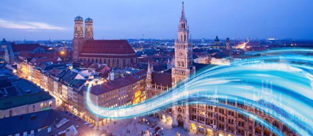 Visualisierung von München., Foto: M-net