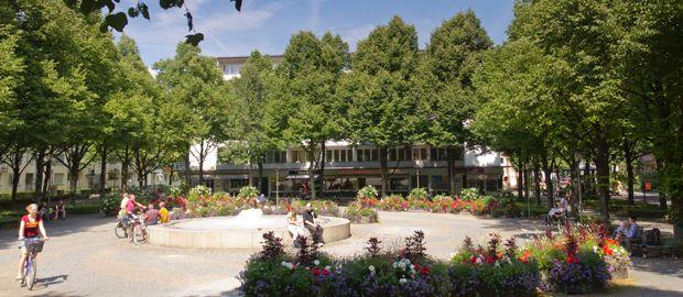 Hohenzollernplatz in München Schwabing, Foto: Katy Spichal