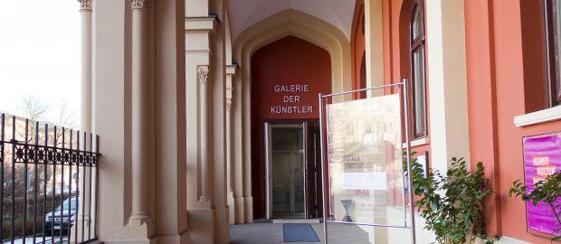 Galerie der Künstler in der Maximilianstraße, Foto: Katy Spichal