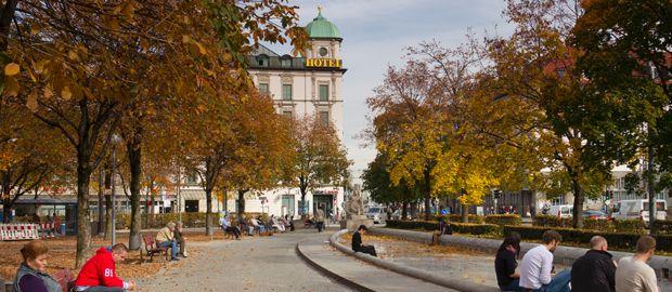 Bordeauxplatz in Haidhausen