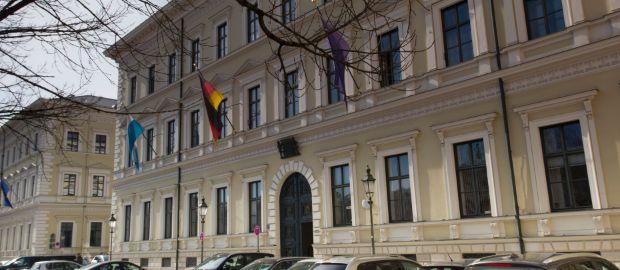 Palais Leuchtenberg am Odeonsplatz, Foto: Katy Spichal