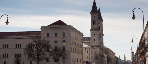 Die Ludwigskirche in der Ludwigstraße, Foto: Katy Spichal