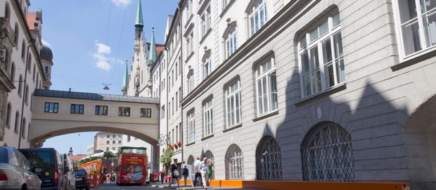 Kunstarkaden München, Foto: Katy Spichal