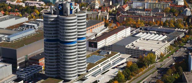 BMW Hochhaus Zuschnitt