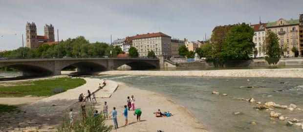 Reichenbachbrücke im Glockenbachviertel, Foto: Katy Spichal