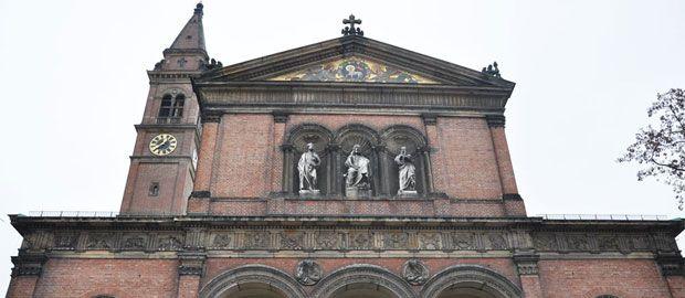 Die Pfarrkirche St. Ursula in Schwabing