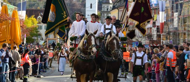 Leonhardifahrt in Fürstenfeldbruck, Foto: Stadt Fürstenfeldbruck