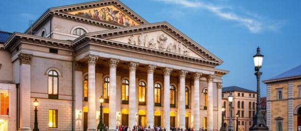 Bayerische Staatsoper, Nationaltheater aussen, München