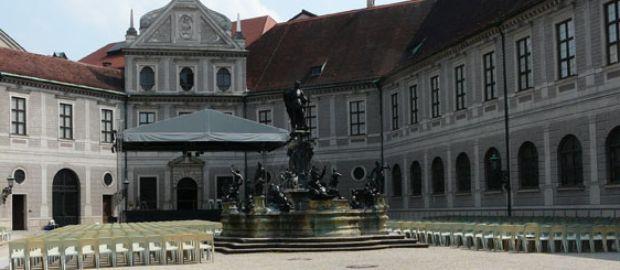 Brunnenhof der Residenz