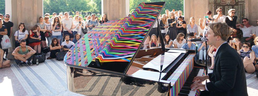 Konzert von Tom Odell im Dianatempel im Hofgarten, Foto: muenchen.de/Vauelle