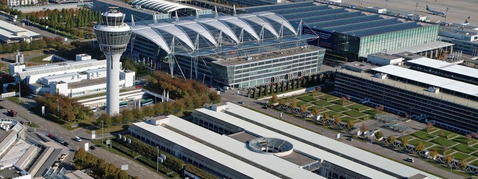 Der Flughafen in München., Foto: Flughafen München GmbH