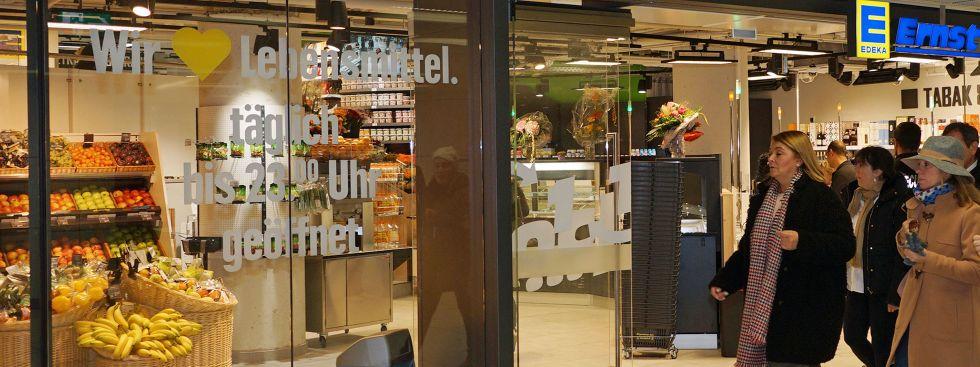 neuer edeka markt im hauptbahnhof er ffnet das offizielle stadtportal. Black Bedroom Furniture Sets. Home Design Ideas
