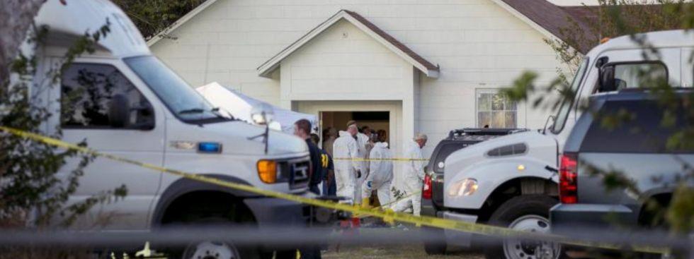 Mann erschießt 26 Menschen in Kirche in Texas, Foto: dpa