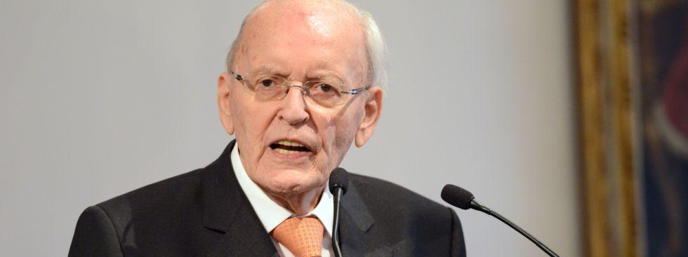 Altbundespräsident Roman Herzog, Foto: dpa