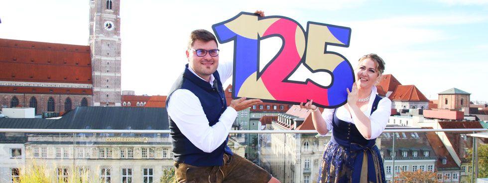 Das Faschingsprinzenpaar 2018 Sebastian I. und Janina I., Foto: Narrhalla