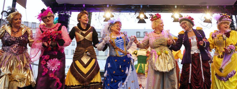 Impressionen vom Tanz der Marktweiber., Foto: muenchen.de/Dan Vauelle