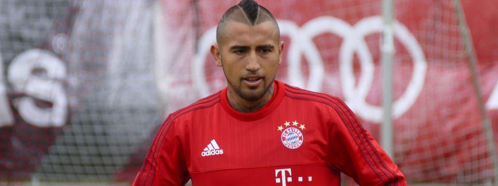 Arturo Vidal vom FC Bayern., Foto: muenchen.de/Mark Read