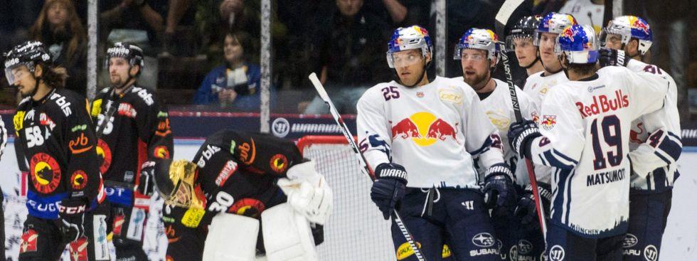 Partie EHC Red Bull München gegen SC Bern, Foto: EHC Red Bull München