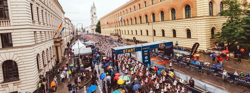 Start zum Stadtlauf München 2017, Foto: Sportcheck