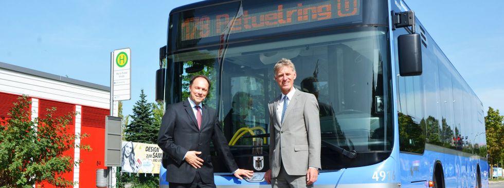 Neuer StadtBus 178 geht in Betrieb, Foto: SWM/MVG, Wolfgang Wellige