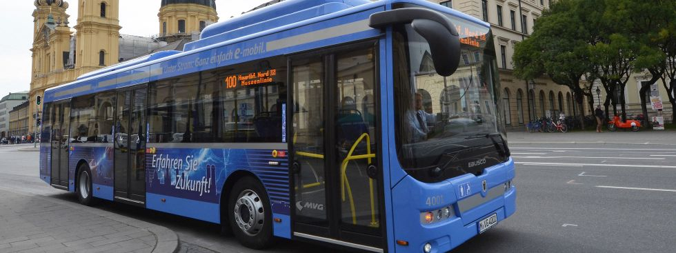 Der neue Elektobus für München, Foto: SWM/MVG, Kerstin Groh