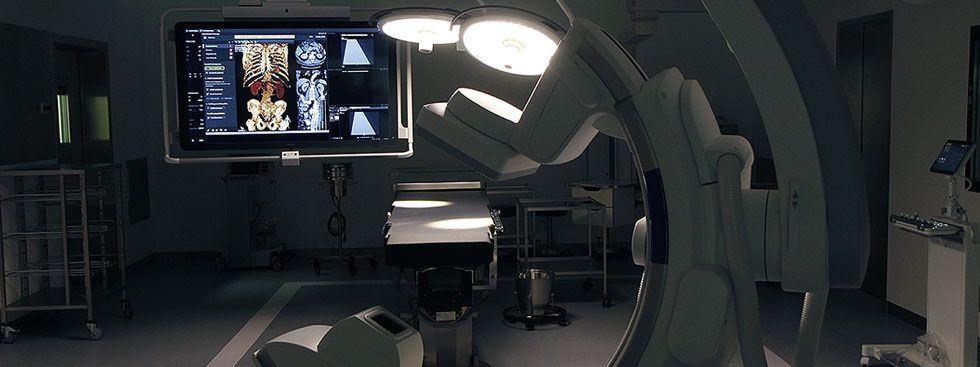 Angiografie im neuen OP-Zentrum am Klinikum Rechts der Isar, Foto: M.Stobrawe / Klinikum rechts der Isar
