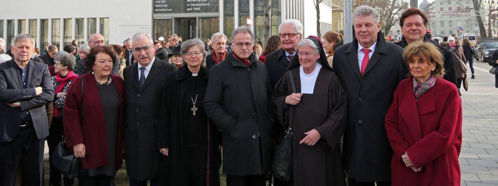 Eröffnung des Max-Mannheimer-Platzes, Foto: Landeshauptstadt München/Michael Nagy