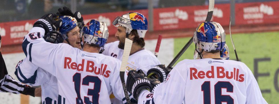 EHC Red Bull München gegen Schwenninger Wild Wings am 12.01.2018, Foto: GEPA pictures