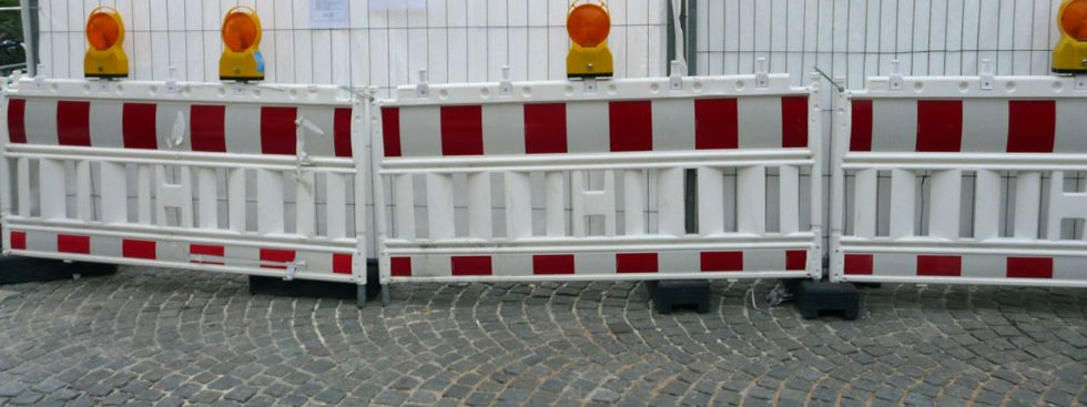 Baustelle in München, Foto: Mark Read