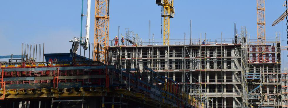 Wohnungsbau Bauen für neue Wohnhäuser in München, Foto: muenchen.de/Mark Read