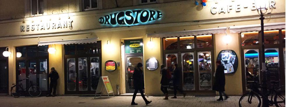 Drugstore Café und Bar in Schwabing, Foto: muenchen.de/Mark Read