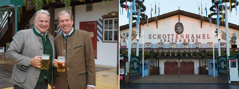 Christian Schottenhamel und das Schottenhamel-Festzelt auf der Wiesn, Foto: Schottenhamel