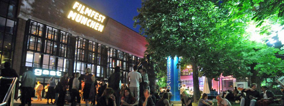 Festivalzentrum Gasteig beim Filmfest München, Foto: Filmfest München/Bernhard Schmidt