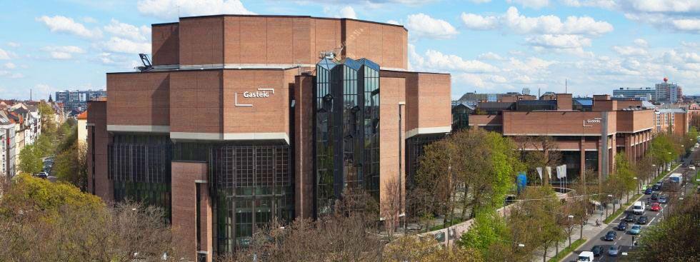 Das Kultur- und Veranstaltungszentrum Gasteig, Foto: Gasteig München GmbH/Johannes Seyerlein