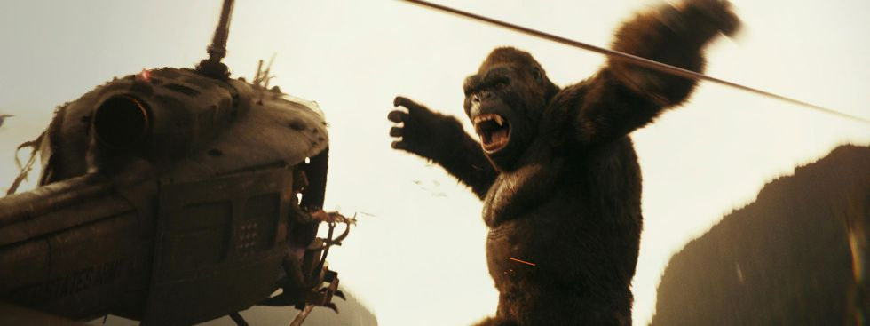 "Szene aus dem Film ""Kong: Skull Island""., Foto: 2017 WARNER BROS. ENTERTAINMENT INC., LEGENDARY PICTURES PRODUCTIONS, LLC AND RATPAC-DUNE ENTERTAINMENT LLC."