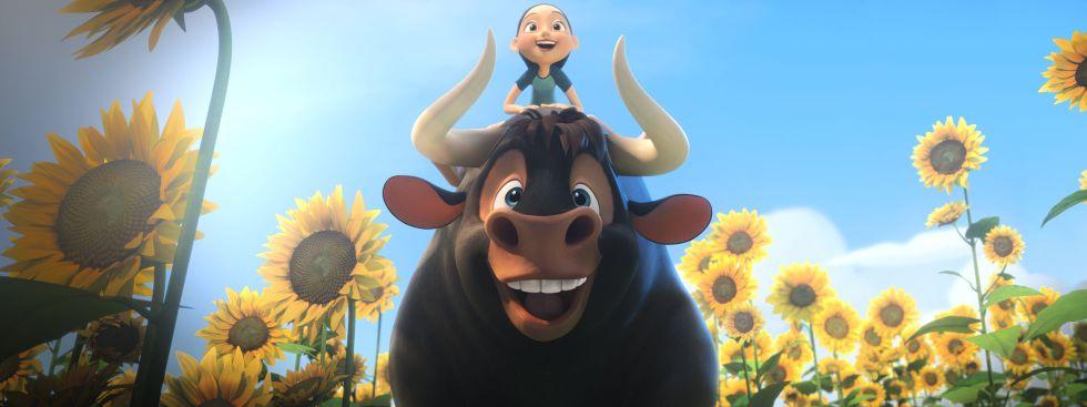 """Szene aus dem Film """"Ferdinand - Geht stierisch ab!"""", Foto: 2017 Twentieth Century Fox"""