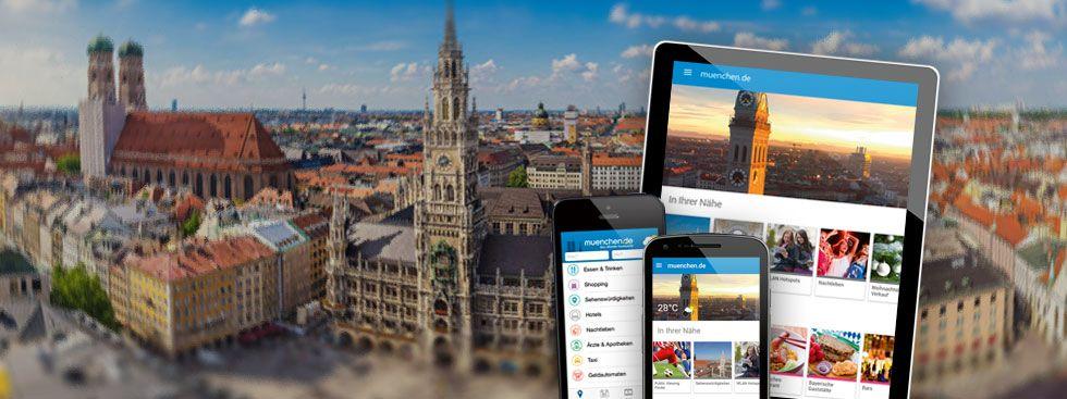 Die München App auf iOS und Android