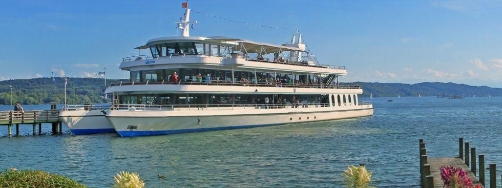 Schiff am Starnberger See