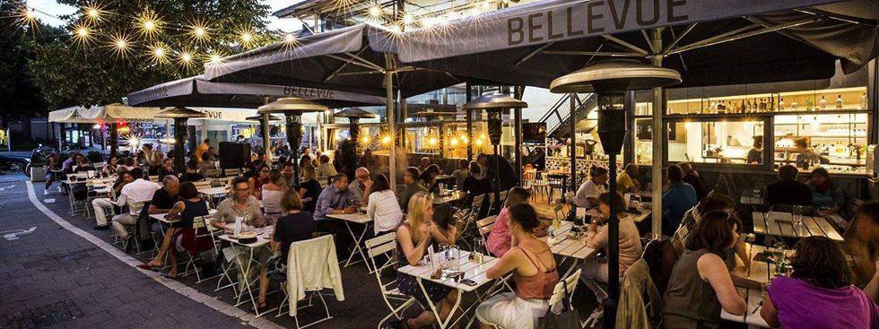 Das Café Bellevue, Foto: Café Bellevue