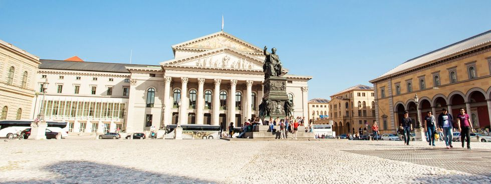 Der Max-Joseph-Platz in der Münchner Altstadt, Foto: muenchen.de / Monica Garduno Soto