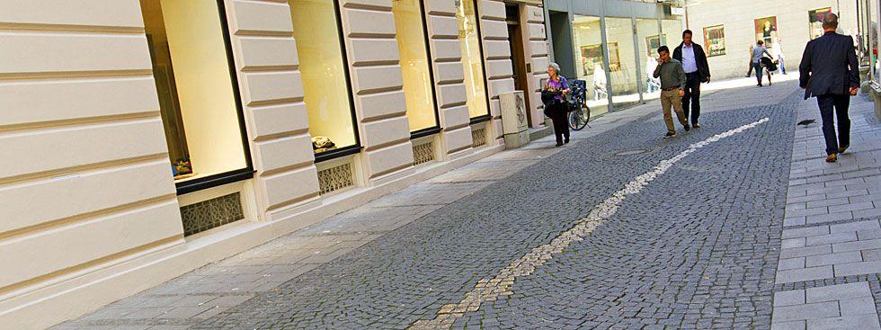 Die Viscardigasse, Foto: muenchen.de/Katy Spichal